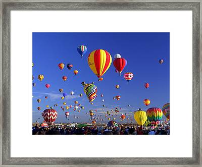 Mass Ascension Framed Print by Jim McCain