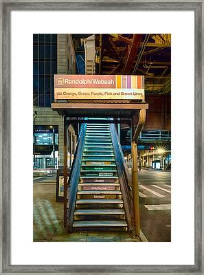 Mass Transit Framed Print