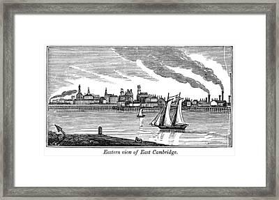 Massachusetts Cambridge Framed Print by Granger