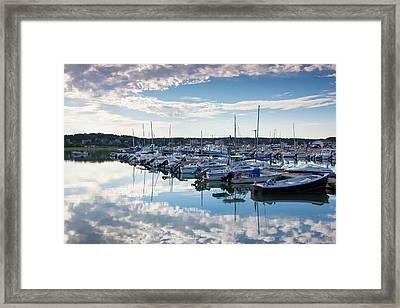 Massachusetts, Cape Cod, Wellfleet Framed Print
