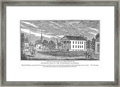 Massachusetts Dedham Framed Print by Granger