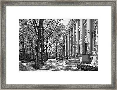 Massachusetts Institute Of Technology Eastman Labs Framed Print by University Icons