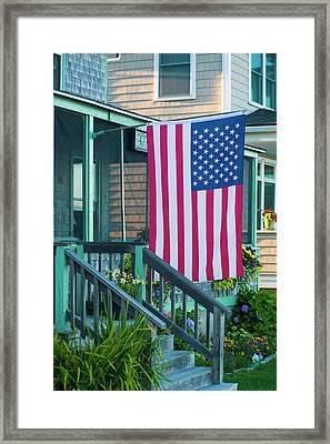 Massachusetts, Rockport, Long Beach Framed Print