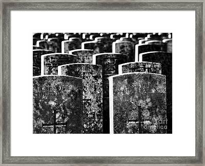 Massacred Framed Print