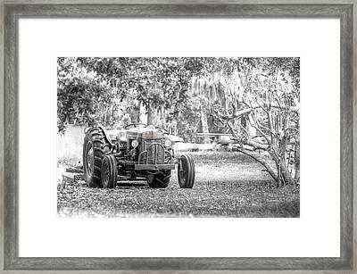 Massey Ferguson Tractor Framed Print
