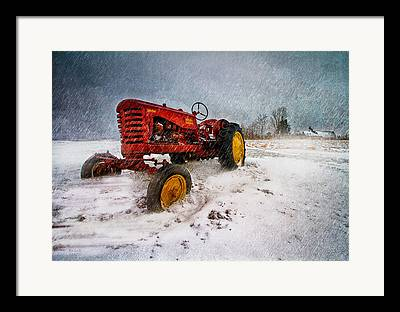 Maine Farmhouse Photographs Framed Prints