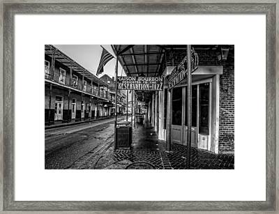 Maison Bourbon Jazz Club 2 Framed Print