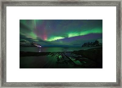 Massive  Framed Print by Anders Hanssen
