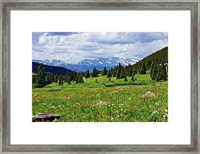 Massive Backdrop Framed Print by Jeremy Rhoades