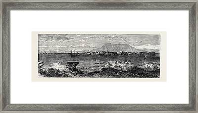 Massowah In The Red Sea One Of The Landing-places Framed Print