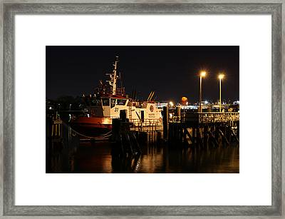 Massport Fire Rescue 31 Framed Print by Juergen Roth