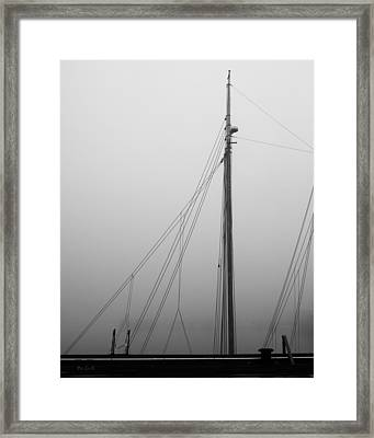 Mast And Rigging Framed Print by Bob Orsillo