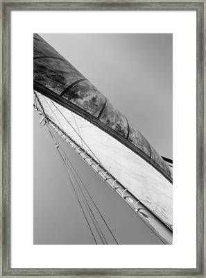 Mast And Sail IIi Framed Print by Marco Oliveira