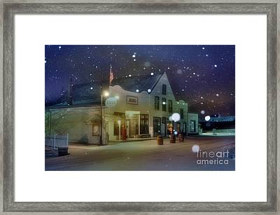 Mast General Store Framed Print by Benanne Stiens