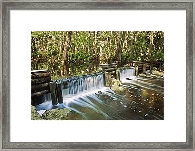 Masten Dam Framed Print