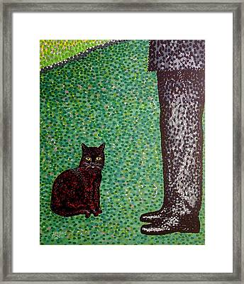 Master And Servant Framed Print by Alan Hogan