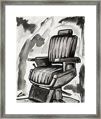 Master Chair Framed Print by The Styles Gallery