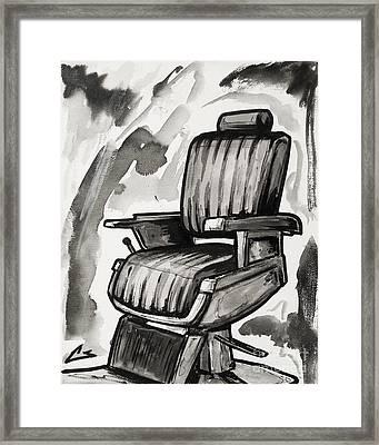 Master Chair Framed Print
