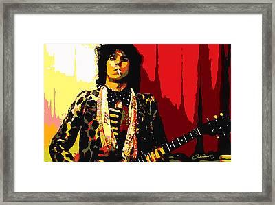 Master Keith Framed Print by John Travisano