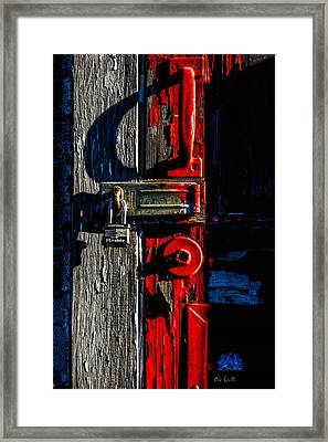 Master Of The Old Red Barn Framed Print by Bob Orsillo