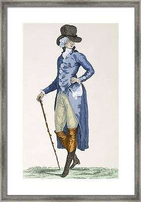 Master Of The Royal House In An Framed Print