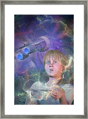 Master Of The Universe Framed Print by Carol and Mike Werner
