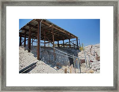 Master Pit 1 At The Calico Early Man Site Framed Print by Jim West