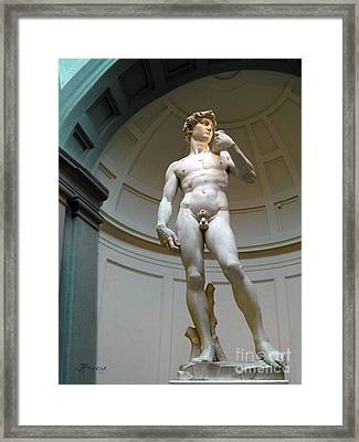 Masterpiece David.florence Framed Print