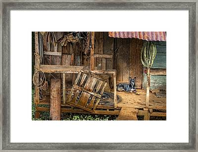 Master's Home Framed Print