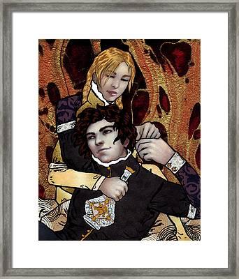 Masters Of Oblivion Framed Print