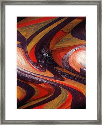 Masturbation Mirth Framed Print by Paula Andrea Pyle