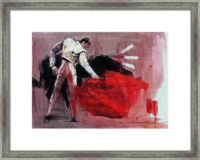 Matador Framed Print by Mark Adlington