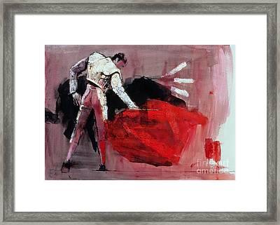 Matador Framed Print