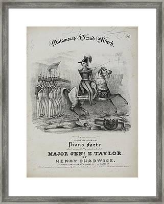 Matamoras Grand March Framed Print