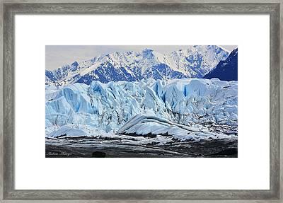 Matanuska Glacier Framed Print by Andrew Matwijec