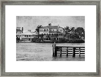 Matanzas Pass - Fort Myers Beach - Florida Framed Print by Kim Hojnacki