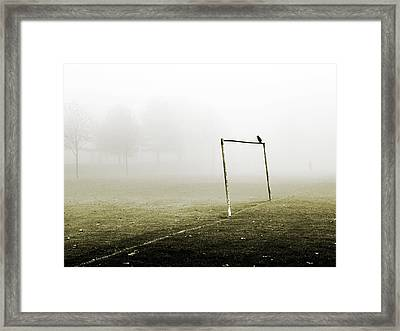 Match Abandoned Framed Print by Mark Rogan