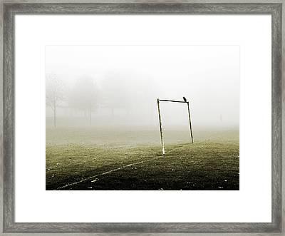 Match Abandoned Framed Print