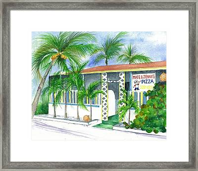 Mate And Jennys Eleuthera Bahamas Framed Print