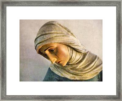 Mater Dolorosa Framed Print by RC deWinter