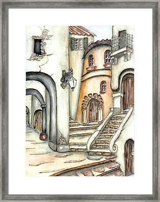 Matera Framed Print