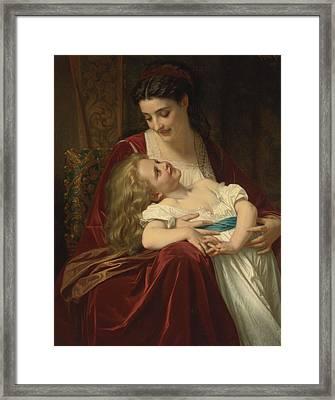Maternal Affection Framed Print
