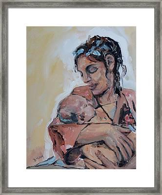 Maternal Love Framed Print