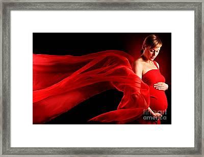 Maternal With Love Framed Print
