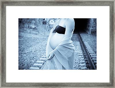 Maternity Leave Framed Print by Denice Breaux