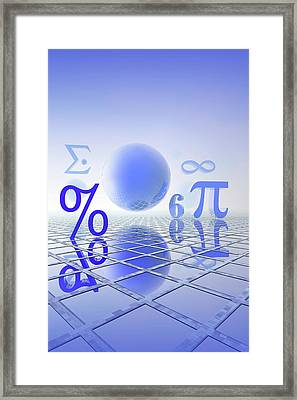 Mathematics Framed Print by Carol & Mike Werner