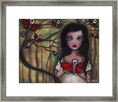 Matilda Framed Print by  Abril Andrade Griffith