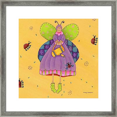 Matilda Framed Print by Tracy Campbell