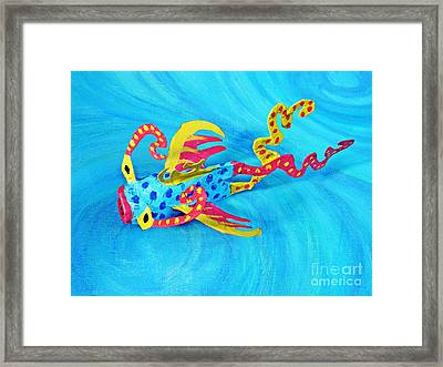 Matisse The Fish Framed Print by Sarah Loft