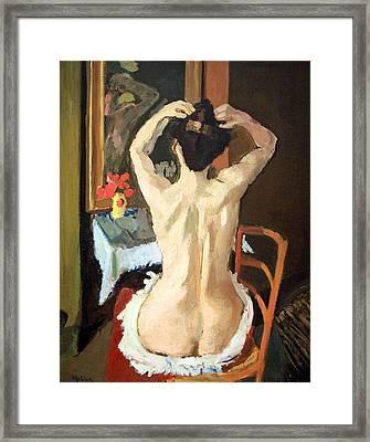 Matisse's La Coiffure Framed Print